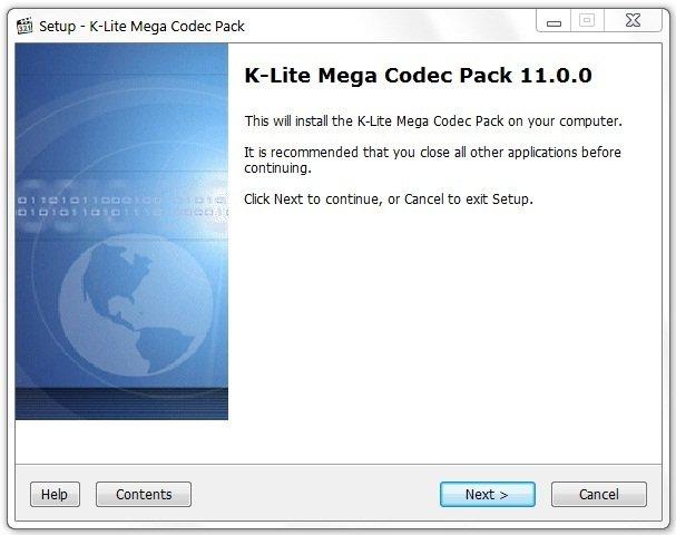 K-Lite Mega Codec Pack - универсальный пакет кодеков для кодирования видеофайлов