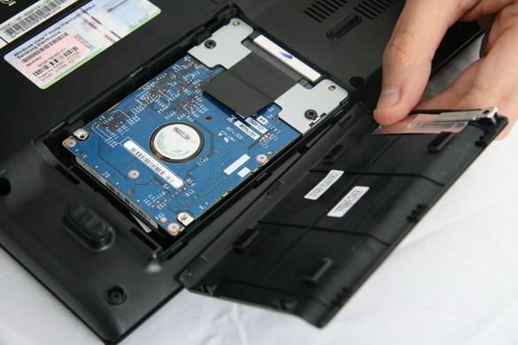 Заменить жесткий диск