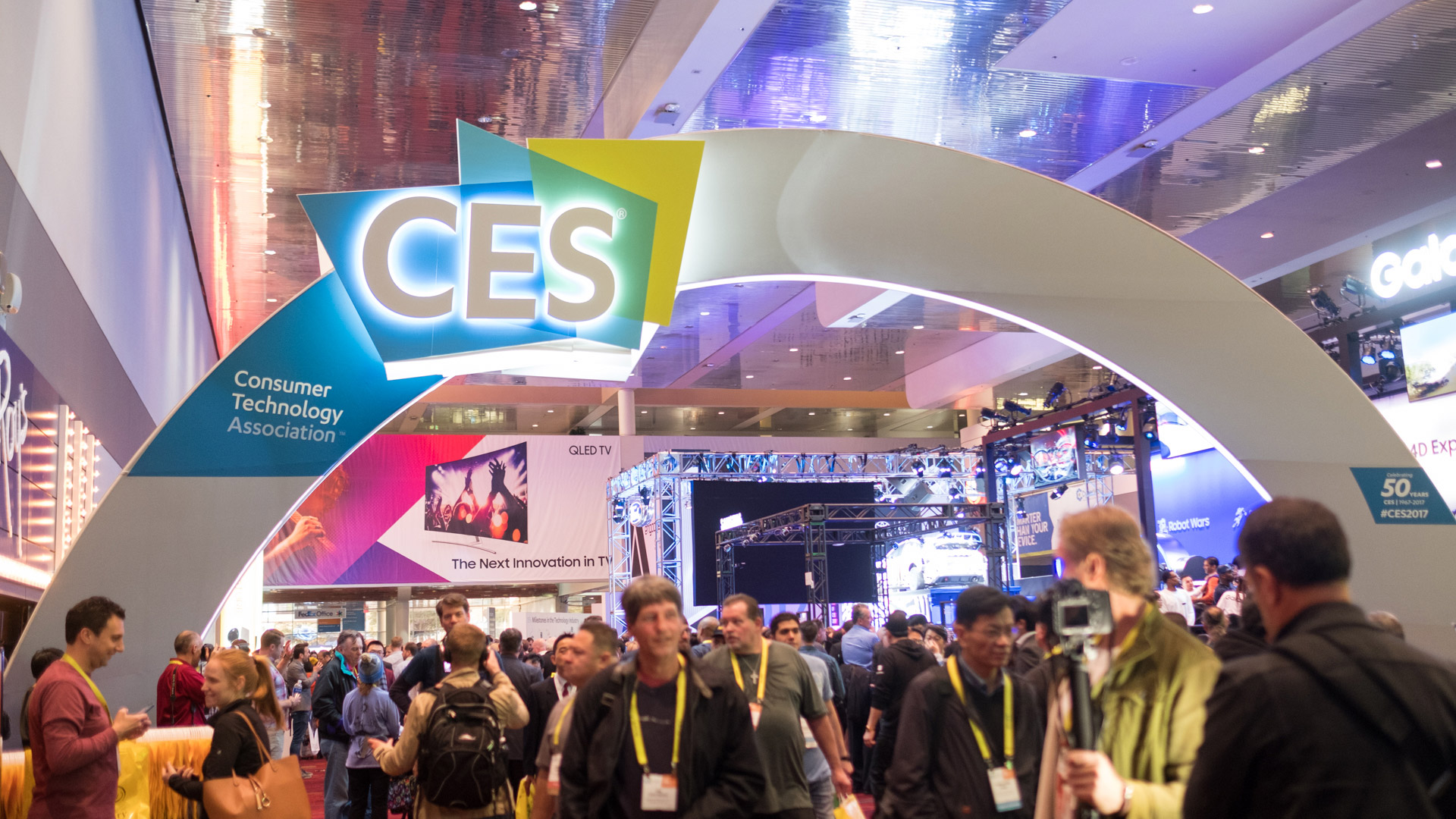 Выставка технологий CES